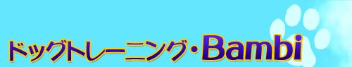 ドッグトレーニング・Banbi